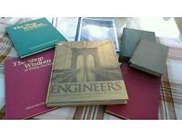 Books 6 hardback engineering 1on valve gear and 1oiling machines