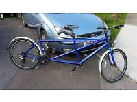 Dawes Discovery Twin Tandem in Blue Metallic