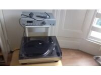 Acoustic Solutions turntable and amp