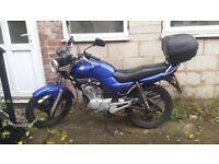 2006 Yamaha YBR125......spares or repairs