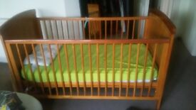 kids items for sale - bed, pushchair,swing ,clothing's etc.