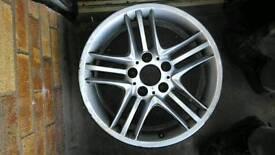 Original Bmw R17 J8 ET34 Alloy Wheel Style 89 E36,E46