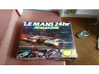 """Old style Scalextric set """"Le man's"""""""
