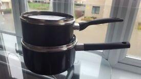 2 Medium Sauce Pans