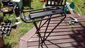 Topeak BabySeat MTX Bike Bag Rack - Quick release Baby Seat Rack- NON-Disc