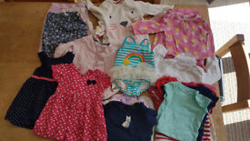 Baby Girl Clothes Bundle - 9-12 months