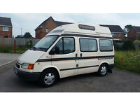 WITH WARRANTY LOW MILES P/S FSH NEW MOT SERVICED NO RUST FORD TRANSIT AUTOSLEEPER FLAIR CAMPERVAN.