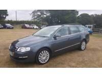 VW Passat highline tdi estate diesel mot dsg automatic 97k immaculate cheap car Kent bargain