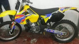 Rm250 road legal