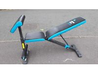 MENS HEALTH UTILITY WEIGHTS BENCH WITH ARM CURL PAD