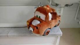 Mater cars soft toy Disney shop