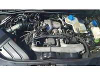 AUDI A4 2.5 TDI AKE ENGINE FOR SALE- FSH 130K - STILL IN CAR AND RUNNING WELL