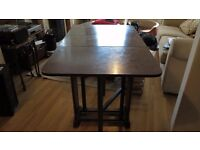 Compact dining table useful for Xmas entertaining