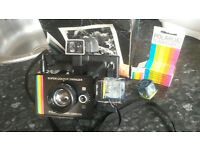 Polaroid Super Colour Swinger Land Camera