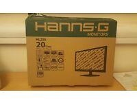 "Hanns G 19.5 "" monitor"