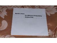 7 inch Vinyl In A Manner Of Speaking. Martin L.Gore 1989 Mute Records Ltd.