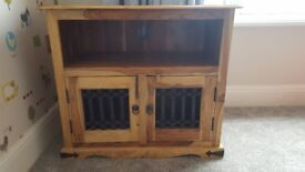 TV Cabinet solid wood.