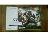 Xbox one s 1tb gears of war 4 bundle New & Sealed ( £260 ono)