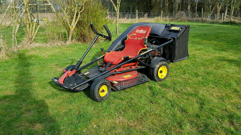 ride on lawnmower grasscutter wolf garten cart go cart. Black Bedroom Furniture Sets. Home Design Ideas