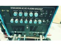 Plasma/tig welding machine