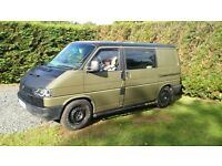 VW TRANSPORTER 2.4 Fully Loaded Camper Van / Surf Bus / Day Van £5000 (Not T5 Caddy T25 Vito)