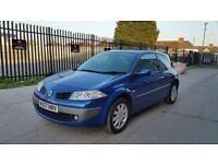 2007 Renault Megan 1.5 dci 3 door hatchback 12 months mot genuine low mileage