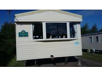 STANDARD 8 BERTH CARAVAN AT CRAIG TARA FOR HIRE