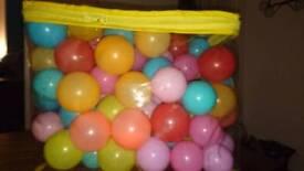 Bag of ball pool balls
