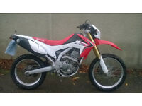 HONDA CRF250L Ideal for commuting or green lanes