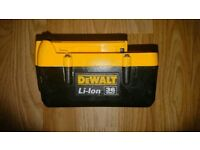 Dewalt 36v battery