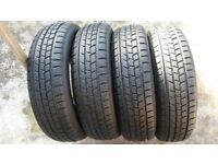 4x Winter Tyres 175 65 15 / 175 65 R15