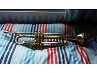 JB trumpet with case
