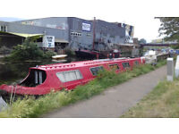 55 foot Narrowboat liveaboard project. Offers welcome.