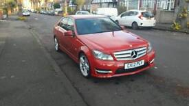 2012 Mercedes c220 cdi blue efficiency sport auto first to see will buy bargain!!!!!!!!!!!!