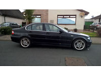BMW 330D 2002 E46 '52 plate, Saloon, Black, alloys, 5-speed manual