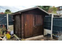 Garden Shed (Log Cabin style)