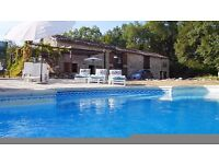 SW France - family villa with private pool. £1000 OFF SCHOOL SUMMER fortnight.