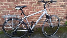 Two bikes,very good condition,silver frame 16inch and 20inch,reason leave