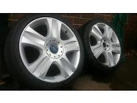 """Ford 18"""" Ronal alloy wheels 5x108 Focus Mondeo C-Max Transit Connect"""
