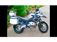 BMW R1200 GS Adv FSH, Sat Nav, Heated Grips, Full Akrapovic System and Full BMW Luggage