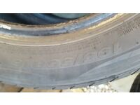 195/55/16 Nexen tyre 7mm tread no damage or rapairs 195 55 16