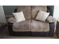 3 and 2 seater reclining sofas both sofas excellent condition