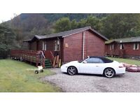 Luxury 3 bedroom lodge for sale - Lock Eck Country Lodges - Complete with 2 boat moorings