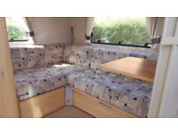 5 Berth STERLING EUROPA 2006 Plus Rally Air Awning & Kampa full size, motor mover & lots more