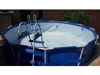 Index 12ft frame swimming pool