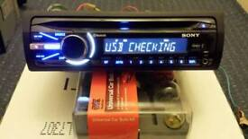 Sony cd player bluetooth usb aux in
