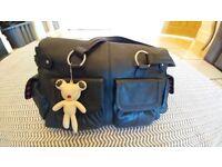 Il Tutto Designer Leather Change Bag