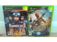 TRIVIAL PURSUIT GENUS EDITION FOR SEGA MASTER SYSTEM & MEDAL OF HONOR RISING SUN +RAINBOW SIX 3 XBOX