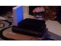 Tivo box 500MB Virgin HD box and router