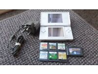 ds lite charger and games
